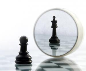reflection of chess